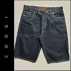 Coogi Men Denim Blue Short Size 42